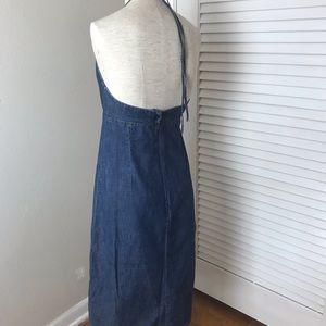 8002bd1692 GAP Dresses - Gap Denim halter dress